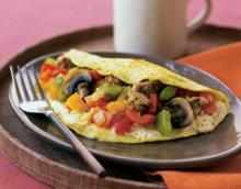 Pete's Man-Size Low-Calorie Breakfast Omelet Photo