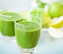 Oprah's Green Drink Photo