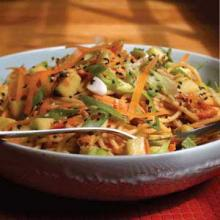 Sesame Peanut Noodles Photo