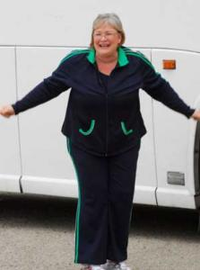 Liz Arrives at Biggest Loser