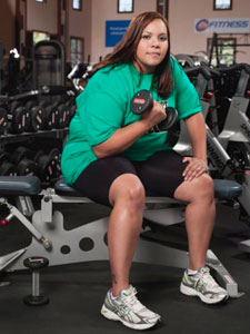Migdalia Joins Biggest Loser