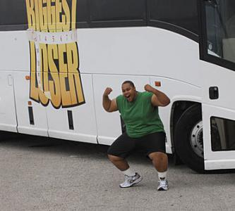 Antoine Dove Arrives at Biggest Loser