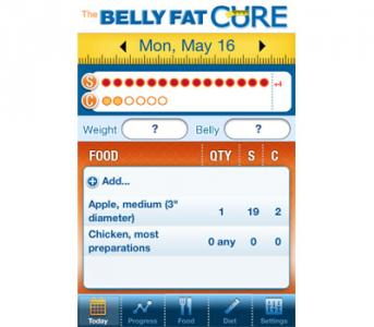 The Belly Fat Cure Sugar and Carb Counter