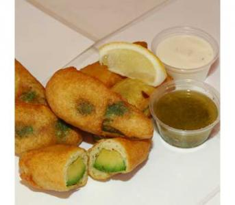 Deep Fried Avacado