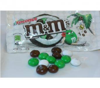 Coconut M and M's