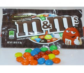 Plain M and M's