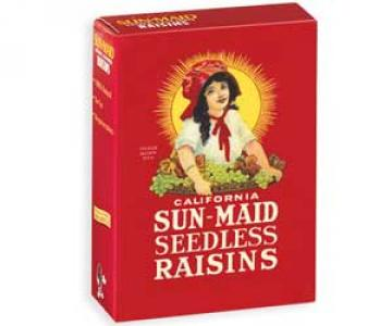 1 Ounce Box of Raisins