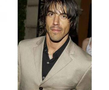 Vegetarian Anthony Kiedis