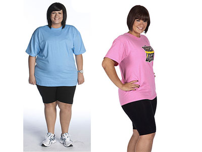 Rebecca Before and After. Rebecca Meyer's Biggest Loser Journey