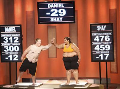 Team Orange: Daniel and Shay