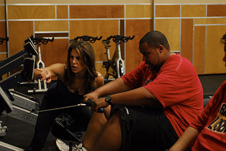 Antoine Dove and Jillian Michaels