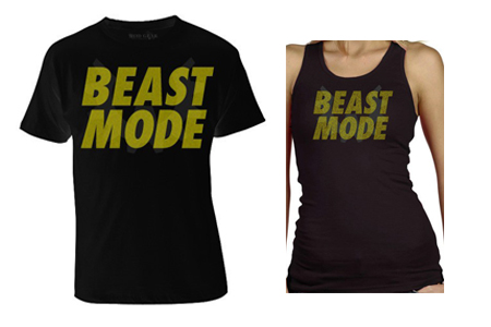 His and Her Beast Mode Shirts