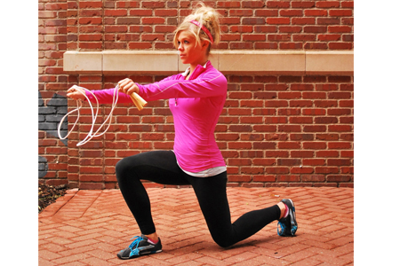 Jump Rope Lunge