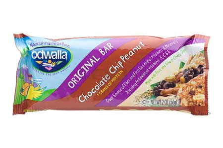 Odwalla Chocolate Chip Peanut Bar