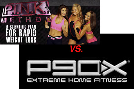 P.I.N.K. Method vs P90X