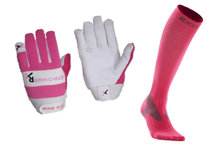 Weight Lifting Gloves and Compression Socks