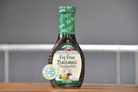 Best Salad Dressing: Maple Grove Farms of Vermont Fat Free Balsamic Vinaigrette
