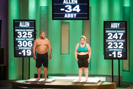Team Green: Allen and Abby