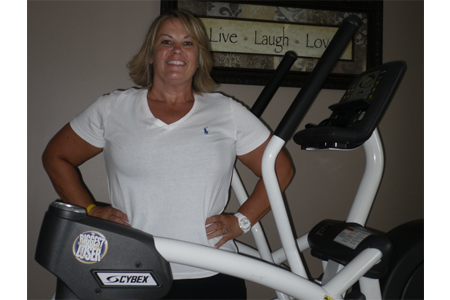 Andi: Cybex Biggest Loser Arc Trainer