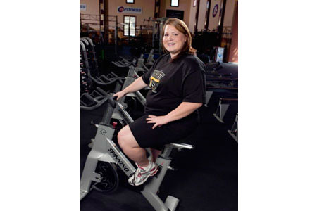 Andrea Arrives at Biggest Loser