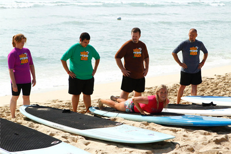 Surfing with Biggest Loser