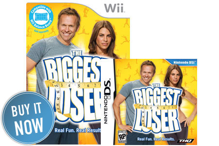 Biggest Loser Games for Wii and DS