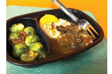 Bistro MD Chicken Marsala with Brussel Sprouts