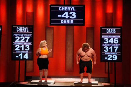 Team Orange: Cheryl and Daris