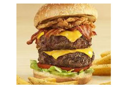 Chili's Ultimate Stacked Burger