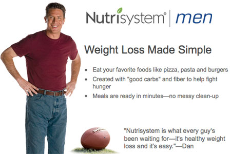 Dan Marino for NutriSystem for Men