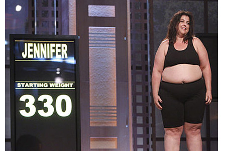 Jennifer's First Weigh In