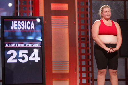 Jessica's First Weigh In