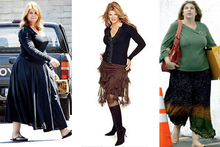 Kirstie Alley's Weight Loss