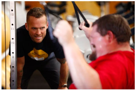 Lance Morgan and Bob Harper