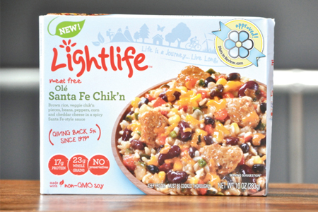 Best Frozen Meals: Lightlife Santa Fe Chik'n