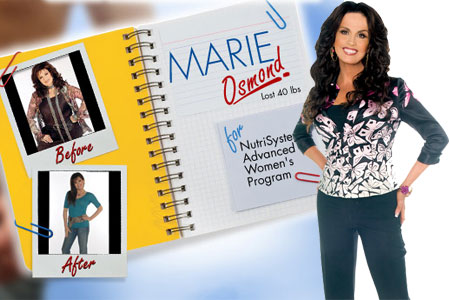 Marie Osmond for Nutrisystem
