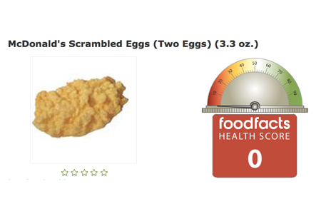 McDonald's Scrambled Eggs