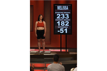 Melissa Returns to Biggest Loser