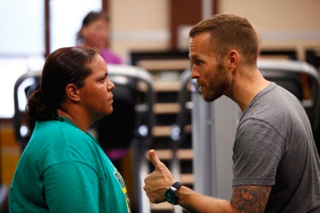 Migdalia and Bob Harper