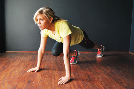 Amazing Abs: Mountain Climbers