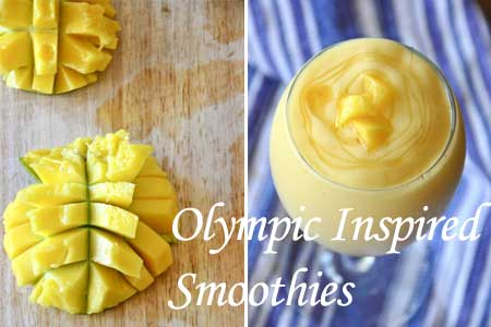 Olympic Inspired Smoothies