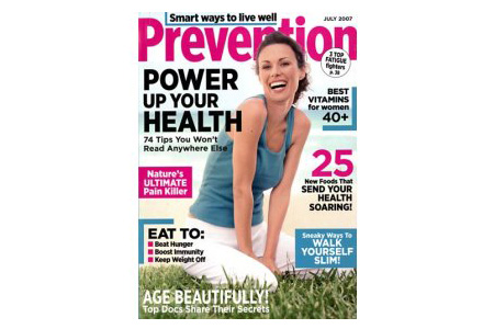 Subscription to Prevention Magazine