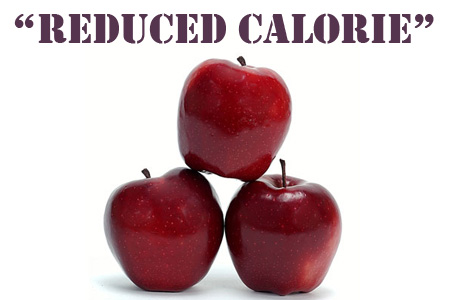 Reduced Calorie Food Labels