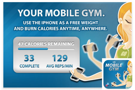 REPS Mobile Gym iPhone App