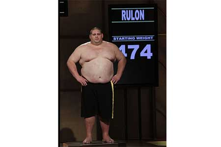 Rulon's First Weigh-In