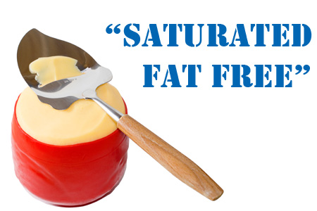 Saturated Fat Free Food Labels