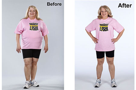 Sherry Johnston's Before and After