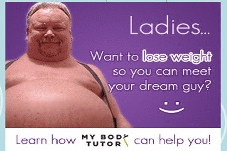 My Body Tutor Ad