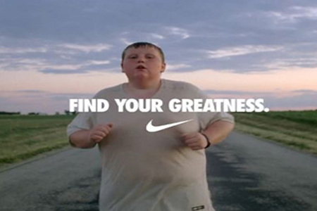 Best Obesity Prevention Ad: Nike's Find Your Greatness