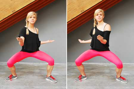 Squat With a Twist